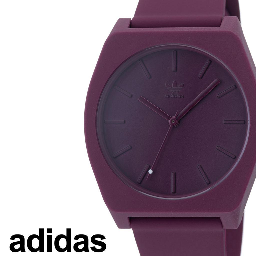 アディダス腕時計 adidas時計 adidas 腕時計 アディダス 時計 プロセスエスピー1 PROCESS_SP1 カップル 彼女 男性 女性 エンジ Z10-2902-00 [ ブランド 防水 シリコン アウトドア スポーツ お洒落 ラウンド シンプル プレゼント ]