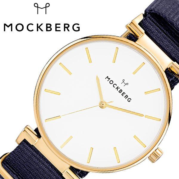 [当日出荷] モックバーグ腕時計 MOCKBERG時計 MOCKBERG 腕時計 モックバーグ 時計 Modest レディース ホワイト MO613 [ 正規品 人気 ブランド 女性用 妻 上品 かわいい 薄型 アクセサリー シンプル 革 ゴールド プレゼント ギフト ] 誕生日