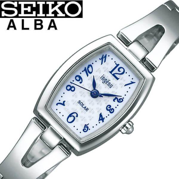セイコー腕時計 SEIKO時計 SEIKO 腕時計 セイコー 時計 アルバ ALBA レディース 女性 ブルー AHJD409 [ 人気 ブランド おすすめ 防水 正規品 ソーラー 可愛い オシャレ 上品 仕事 社会人 プレゼント ギフト ] 誕生日