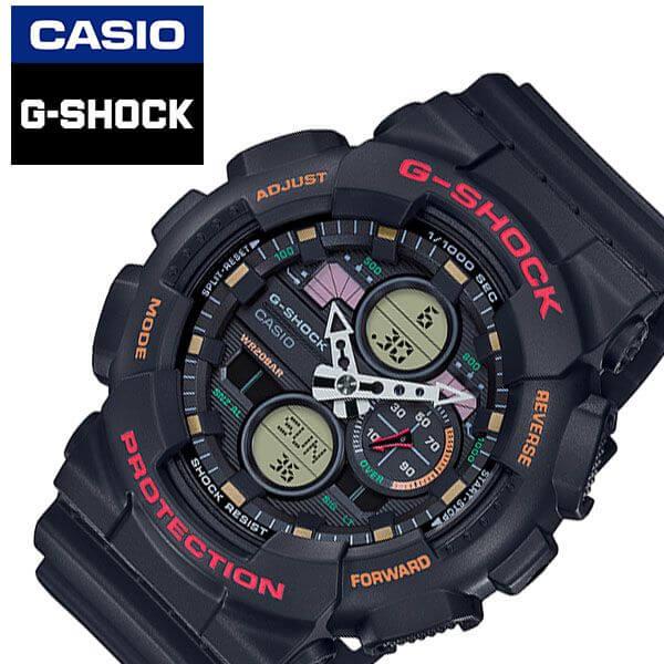 [あす楽][5年保証]カシオ腕時計 CASIO時計 CASIO 腕時計 カシオ 時計 ジーショック G-SHOCK メンズ ブラック GA-140-1A4JF [ 正規品 新作 人気 ブランド 防水 かっこいい アウトドア 仕事 カジュアル アナデジ ラバー ベルト ストラップ バンド プレゼント ギフト ]