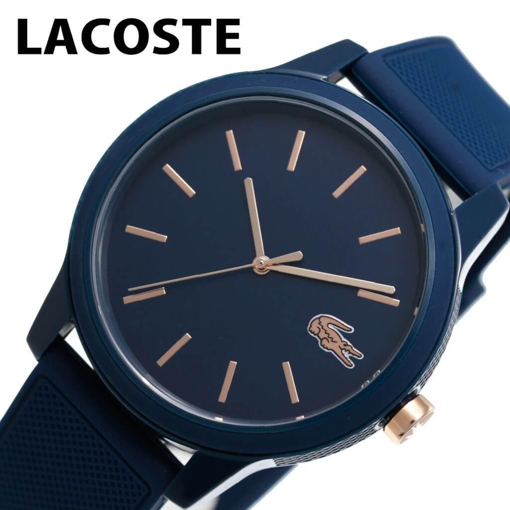 ラコステ腕時計 LACOSTE時計 LACOSTE 腕時計 ラコステ 時計 メンズ 男性 ブラック LC2011011 [ 人気 ブランド シンプル おしゃれ かわいい ファッション スポーツ カジュアル プレゼント ギフト ] 誕生日 冬ギフト