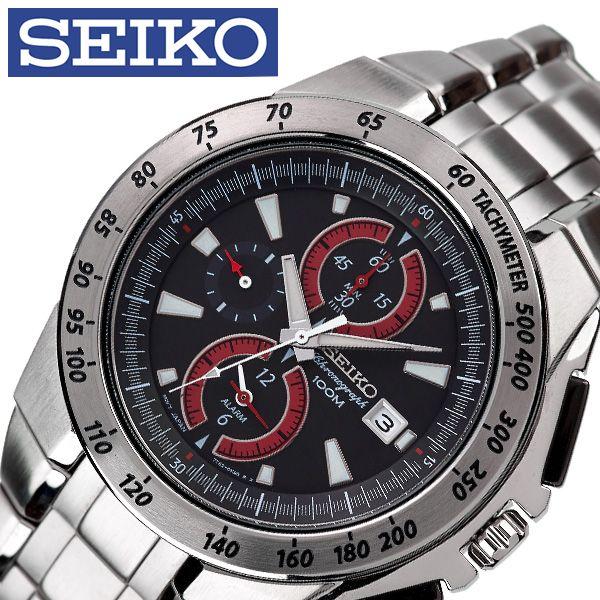 [当日出荷] セイコー腕時計 SEIKO時計 SEIKO 腕時計 セイコー 時計 メンズ 男性 ブラック SNAB07P1 [ 人気 ブランド 逆輸入 定番 おしゃれ ファッション フォーマル スーツ 営業 商社 プレゼント ギフト ] 誕生日