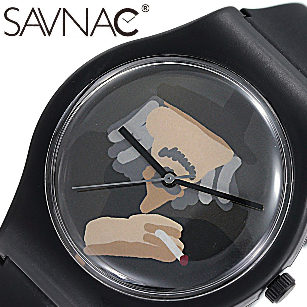(BEAMS 取り扱い)サブナック腕時計 SAVNAC時計 面白い 父の日 ギフト SAVNAC 腕時計 サブナック 時計 コットンパン ヤマモト ヨウジ 山本耀司 COTTON PAN YOJI YAMAMOTO 男性 女性 マルチカラー YOJ01 [ 正規品 人気 ブランド おしゃれ シンプル プレゼント ギフト ] PT10