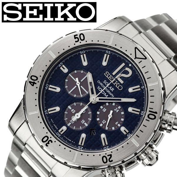 【SALE】(10%OFF) 割引 セール 安い セイコー腕時計 SEIKO時計 SEIKO 腕時計 セイコー 時計 メンズ ブルー SSC221P1 [ ブランド 防水 ソーラー ステンレスベルト 限定 スーツ 仕事 ビジネス時計 カレンダー 彼氏 かっこいい おしゃれ 上品 プレゼント ギフト ]