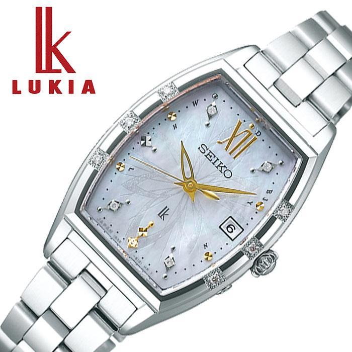 [当日出荷] セイコー腕時計 SEIKO時計 SEIKO 腕時計 セイコー 時計 ルキア LUKIA レディース ホワイト 白 SSVW163 [ 人気 ブランド 防水 トノー 白蝶貝 限定 パール 真珠 おしゃれ ファッション ビジネス フォーマル 替えベルト付 プレゼント ギフト ] 誕生日