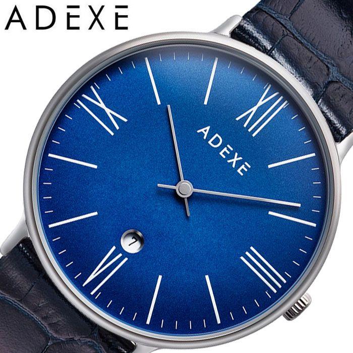 アデクス腕時計 ADEXE時計 ADEXE 腕時計 アデクス 時計 グランデ GRANDE メンズ ネイビー 1890B-05-JP19JN [ 正規品 人気 ブランド 流行 インスタ インスタ映え オシャレ ファッション お揃い ペア おそろい 北欧 上品 シンプル スーツ プレゼント ギフト ]