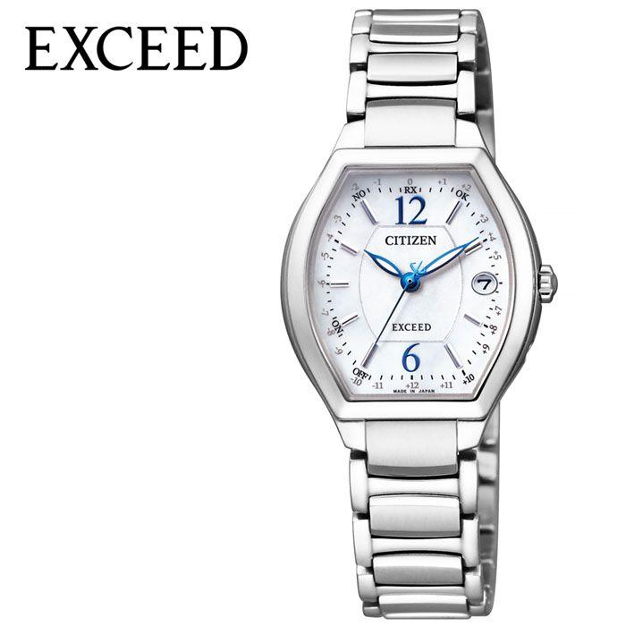 [SALE](33000円引き 割引き セール 安い )シチズン腕時計 CITIZEN時計 CITIZEN 腕時計 シチズン 時計 エクシード EXCEED レディース ホワイト ES9340-55W [ 正規品 ブランド おすすめ 防水 蝶貝 パール パーフェックス 電波 ソーラー トノー おしゃれ プレゼント ギフト ]