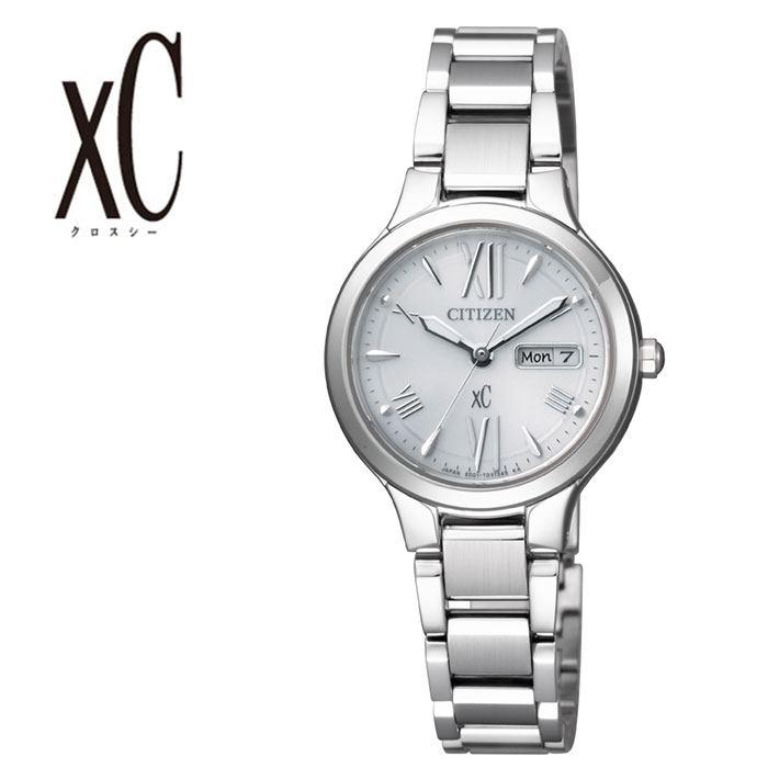 シチズン腕時計 CITIZEN時計 CITIZEN 腕時計 シチズン 時計 クロスシー xC レディース シルバー EW3220-54A [ 正規品 ブランド おすすめ 防水 エコドライブ ソーラー ファッション おしゃれ スーツ プレゼント ギフト ] 誕生日