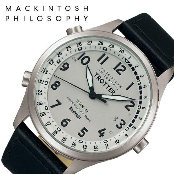 [5年保証]セイコー腕時計 SEIKO時計 SEIKO 腕時計 セイコー 時計 マッキントッシュ フィロソフィー トロッター MACKINTOSH PHILOSOPHY TROTTER Bluetooth メンズ グレー FCZB999 [ ブランド 防水 おしゃれ ビジネス カレンダー プレゼント ギフト ]