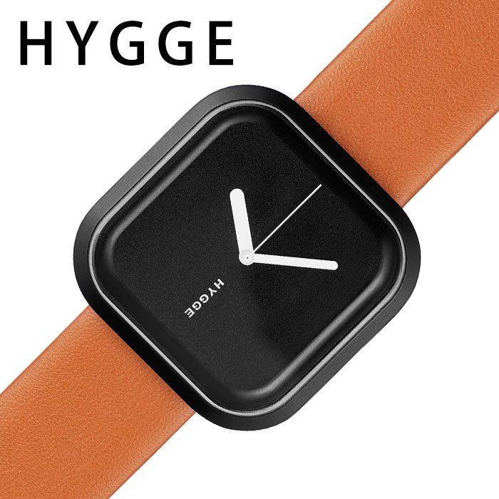 [当日出荷] ヒュッゲ腕時計 HYGGE時計 HYGGE 腕時計 ヒュッゲ 時計 バリ VARI メンズ レディース ブラック 黒 HGE020092 [ 人気 ブランド 防水 スクエア ファッション おしゃれ 北欧 ジェンダーレス 個性的 デザイン プレゼント ギフト ] 誕生日