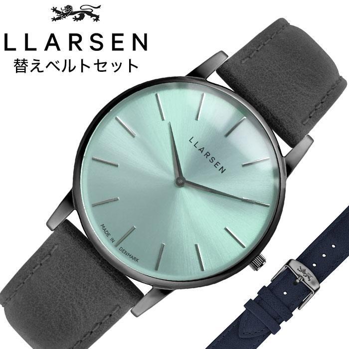 [当日出荷] エルラーセン腕時計 LLARSEN時計 LLARSEN 腕時計 エルラーセン 時計 オリバー Oliver メンズ ブルー LL147OTGYRL [ 人気 新作 正規品 ブランド おしゃれ デンマーク 北欧 デザイン カジュアル シンプル ファッション 彼氏 旦那 夫 プレゼント ギフト ]