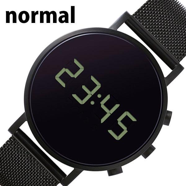 [あす楽]ノーマルタイムピーシーズ腕時計 NORMAL TIMEPIECES時計 NORMAL TIMEPIECES 腕時計 ノーマルタイムピーシーズ 時計 トキジ TOKIJI メンズ ブラック 黒 NML020107 [ 人気 ブランド 防水 デジタル おしゃれ 個性的 デザイン おしゃれ プレゼント ギフト ]