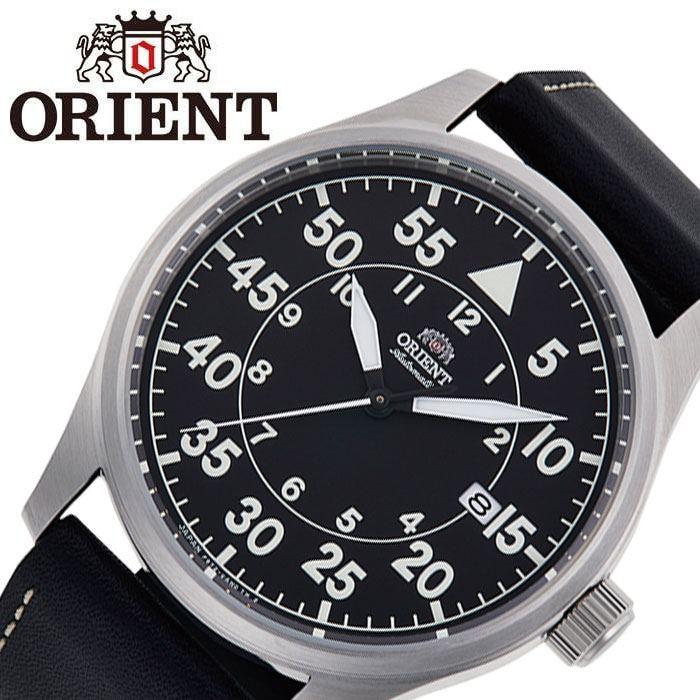 [5年保証]オリエント腕時計 ORIENT時計 ORIENT 腕時計 オリエント 時計 SPORTS メンズ ブラック RN-AC0H03B [ 正規品 ブランド 防水 機械式 メカニカル 自動巻き 自動巻 カレンダー 日本製 レザー 革ベルト シンプル プレゼント ギフト ]