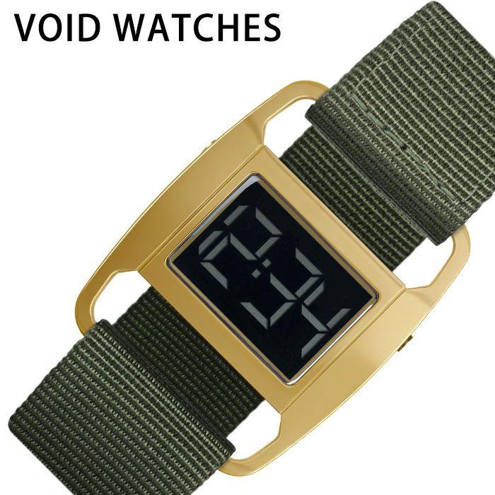 [あす楽]ヴォイド腕時計 VOID時計 VOID 腕時計 ヴォイド 時計 PXR5 メンズ レディース ゴールド 金 VID020084 [ 人気 ブランド 防水 デザイン デジタル ストラップ カジュアル ファッション おしゃれ プレゼント ギフト ] 誕生日