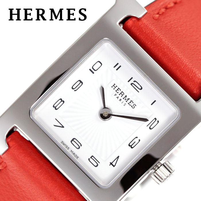 [当日出荷] エルメス腕時計 HERMES時計 HERMES 腕時計 エルメス 時計 Hウォッチ H WATCH レディース ホワイト HH1210131-WW9T [ 人気 ブランド 高級 上品 ファッション シルバー HH1 210 131 WW9T スーツ フォーマル おしゃれ カジュアル 革ベルト プレゼント ギフト ]