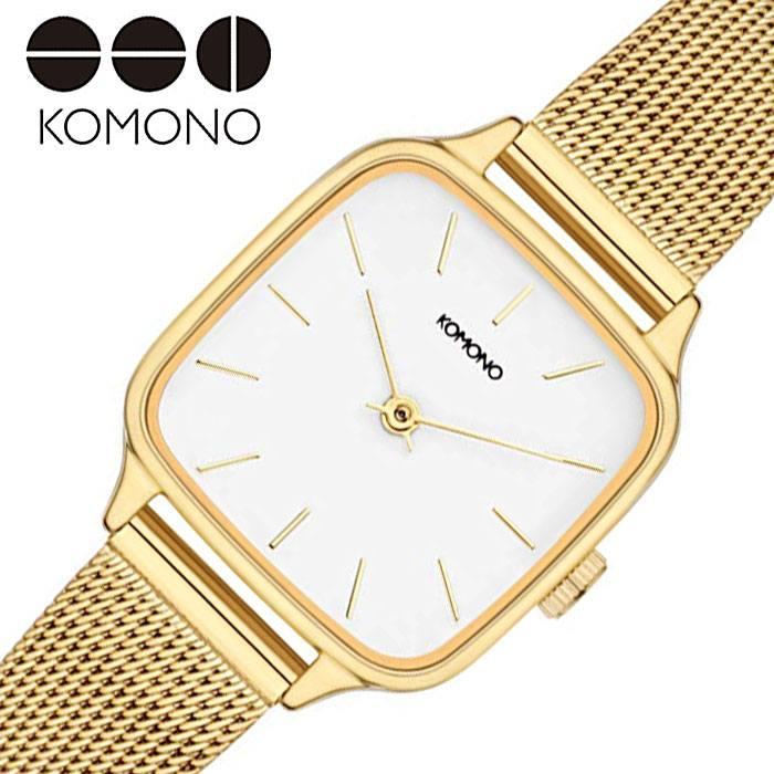 [当日出荷] コモノ腕時計 KOMONO時計 KOMONO 腕時計 コモノ 時計 ケイト ロイヤル KATE ROYAL レディース 女性 ホワイト KOM-W4254 [ 人気 ブランド おすすめ カジュアル おしゃれ 個性的 シンプル シック プレゼント ギフト ]PT10