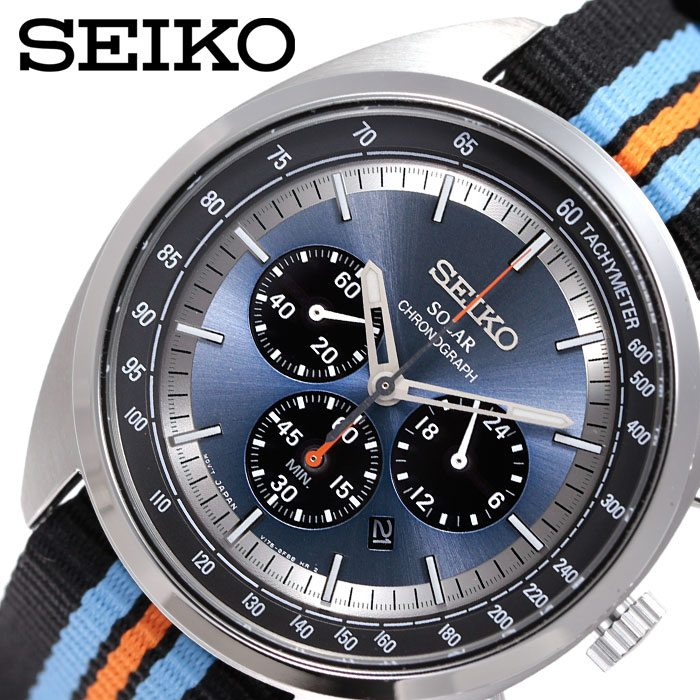 [当日出荷] セイコー腕時計 SEIKO時計 SEIKO 腕時計 セイコー 時計 メンズ 男性 ブルー SSC667 [ 人気 ブランド 海外限定モデル リクラフトおすすめ ビジネス おしゃれ カジュアル スーツ カレンダー プレゼント ギフト ]