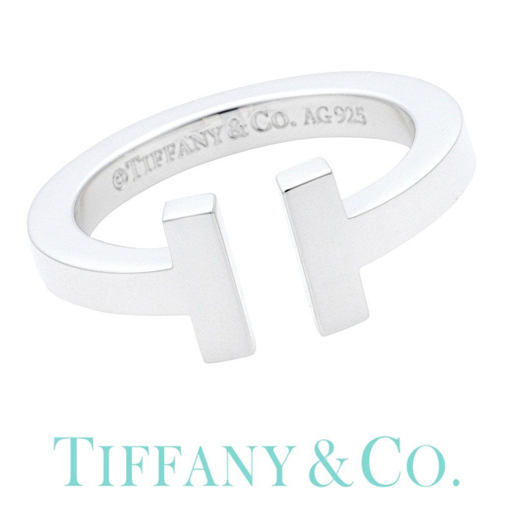 ティファニー リング【JP 11号】Tiffany&co ジュエリー Tcollection Tiffany T レディース 33429746 [ 誕生日 プレゼント 女性 ブランド ギフト おしゃれ 人気 シンプル Tコレクション 指輪 ペアリング シルバー925 ] TRG