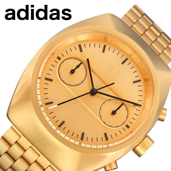 [当日出荷] アディダス腕時計 adidas時計 adidas 腕時計 アディダス 時計 プロセス クロノ M3 PROCESS CHRONO M3 メンズ ゴールド Z18-502-00 [ ブランド スポーツ ウォッチ ファッション おしゃれ ストリート プレゼント ギフト ]