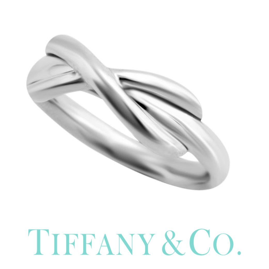 インフィニティ クロス (純正紙袋&BOX付き) 【9号】ティファニー 指輪 レディース リング シンプル おしゃれ Tiffany&co ブランド Tiffany Infinity 35189335 [ 女性 彼女 誕生日 プレゼント ギフト 人気 ペアリング シンプル シルバー925 ] PT10
