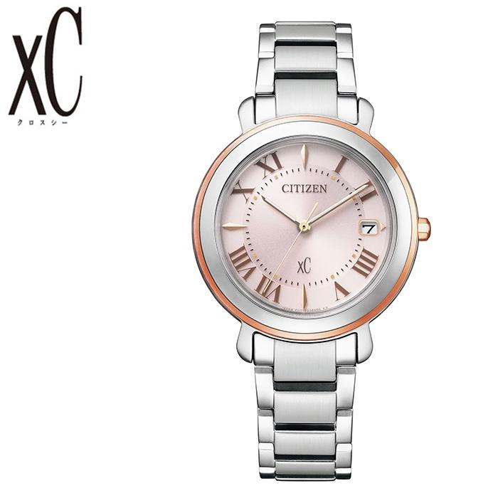 [5年保証]シチズンクロスシー腕時計 CITIZENxC時計 CITIZEN xC 腕時計 シチズン クロスシー 時計 レディース ペールピンク EO1204-51W [ 正規品 人気 エコドライブ ソーラー ブランド シンプル 大人 キレイ 可愛い オシャレ ファッション 仕事 スーツ プレゼント ギフト ]