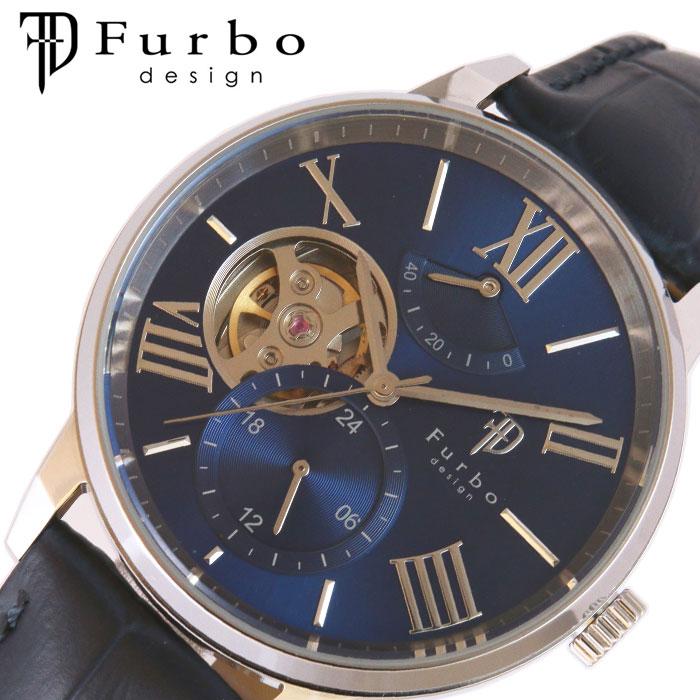 [当日出荷] [5年保証]フルボデザイン腕時計 Furbodesign時計 Furbo design 腕時計 フルボ デザイン 時計 TIMENT メンズ ブルー F8401NVNV [ 人気 ブランド おしゃれ ファッション カジュアル スーツ ビジネス フォーマル 機械式 プレゼント ギフト ]