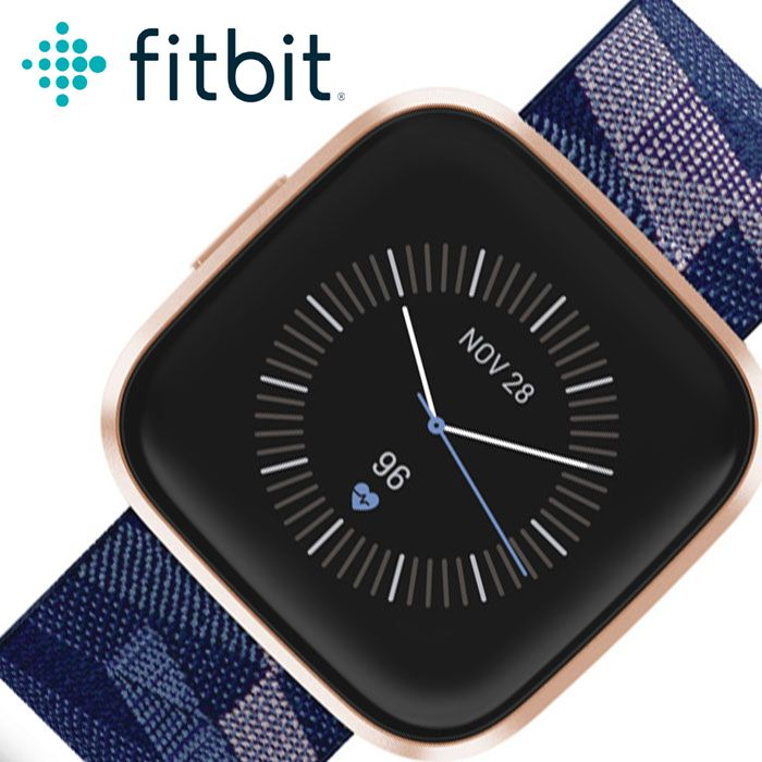フィットビット腕時計 Fitbit時計 Fitbit 腕時計 フィットビット 時計 ヴァーサ2 Versa 2 メンズ レディース 液晶 FB507RGNV [ 人気 ブランド おすすめ 防水 アウトドア スポーツ トレーニング ジム ジョギング ランニング カジュアル ビジネス プレゼント ギフト ]