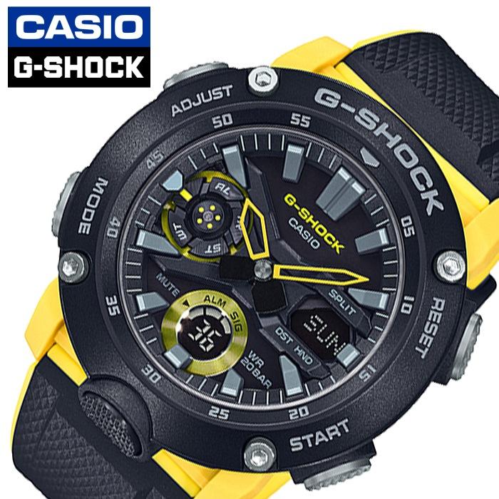 [当日出荷] [5年保証]カシオ腕時計 CASIO時計 CASIO 腕時計 カシオ 時計 ジーショック G-SHOCK メンズ ブラック GA-2000-1A9JF [ 正規品 防水 アナデジ Gショック アラーム カレンダー ワールドタイム カジュアル カーボン 強い 軽い 頑丈プレゼント ギフト ]