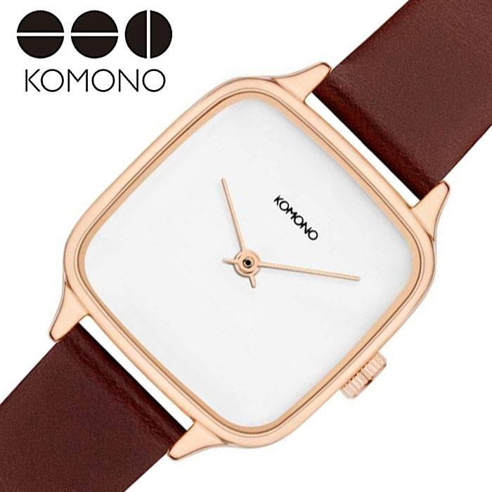 [当日出荷] コモノ腕時計 KOMONO時計 KOMONO 腕時計 コモノ 時計 ケイト KATE メンズ レディース 女性 ホワイト KOM-W4255 [ 人気 ブランド 正規品 シンプル カジュアル 流行 トレンド プレゼント ギフト ]PT10