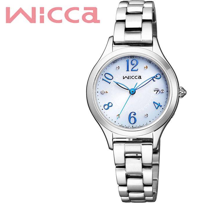 [5年保証]シチズンウィッカ腕時計 CITIZENWicca時計 CITIZEN Wicca 腕時計 シチズン ウィッカ 時計 レディース ホワイト KS1-210-91 [ 人気 ブランド おすすめ おしゃれ 電波ソーラー ファッション カジュアル フォーマル スーツ ビジネス シンプル プレゼント ギフト ]