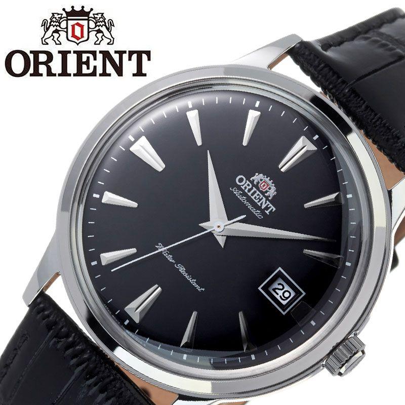 【SALE】(10%OFF) 割引 セール 安い オリエント腕時計 ORIENT時計 ORIENT 腕時計 オリエント 時計 バンビーノ クラシック BAMBINO CLASSIC メンズ ブラック ORW-FAC00004B0 [ ブランド 就活時計 防水 レトロ クラシカル 自動巻き 機械式 レザー 革ベルト プレゼント 記念日 ]