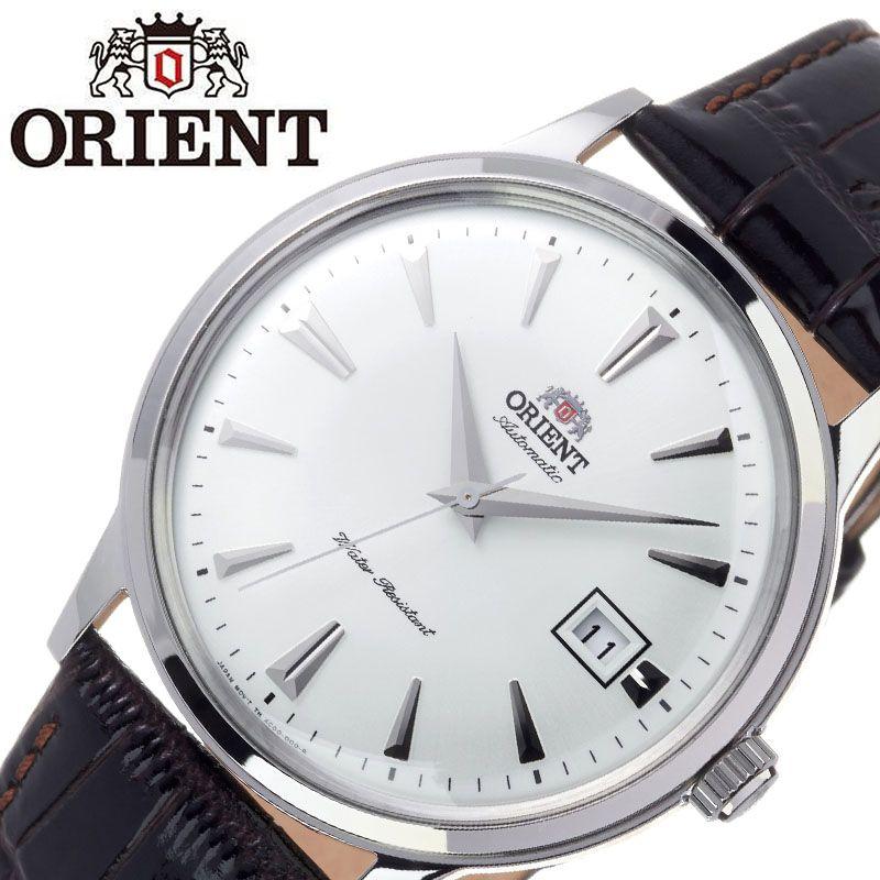 【SALE】(10%OFF) 割引 セール 安い オリエント腕時計 ORIENT時計 ORIENT 腕時計 オリエント 時計 バンビーノ クラシック BAMBINO CLASSIC メンズ ホワイト ORW-FAC00005W0 [ ブランド 就活時計 防水 レトロ クラシカル 自動巻き 機械式 レザー 革ベルト プレゼント 記念日 ]