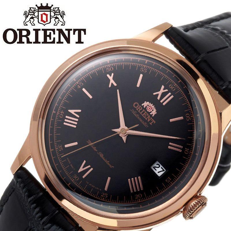 【SALE】(10%OFF) 割引 セール 安い オリエント腕時計 ORIENT時計 ORIENT 腕時計 オリエント 時計 バンビーノ クラシック BAMBINO CLASSIC メンズ ブラック ORW-FAC00006B0 [ ブランド 就活時計 防水 レトロ クラシカル 自動巻き 機械式 レザー 革ベルト プレゼント 記念日 ]