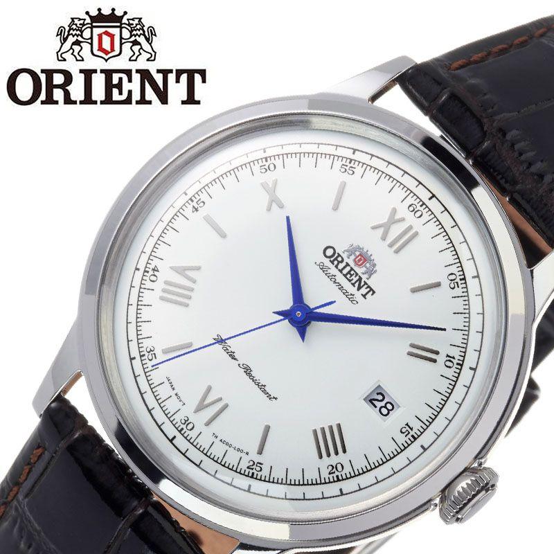 【SALE】(10%OFF) 割引 セール 安い オリエント腕時計 ORIENT時計 ORIENT 腕時計 オリエント 時計 バンビーノ クラシック BAMBINO CLASSIC メンズ ホワイト ORW-FAC00009W0 [ ブランド 就活時計 防水 レトロ クラシカル 自動巻き 機械式 レザー 革ベルト プレゼント 記念日 ]