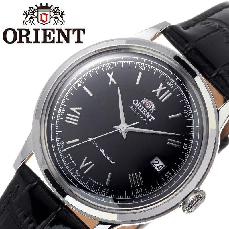 【SALE】(10%OFF) 割引 セール 安い オリエント腕時計 ORIENT時計 ORIENT 腕時計 オリエント 時計 バンビーノ クラシック BAMBINO CLASSIC メンズ ブラック ORW-FAC0000AB0 [ ブランド 就活時計 防水 レトロ クラシカル 自動巻き 機械式 レザー 革ベルト プレゼント 記念日 ]