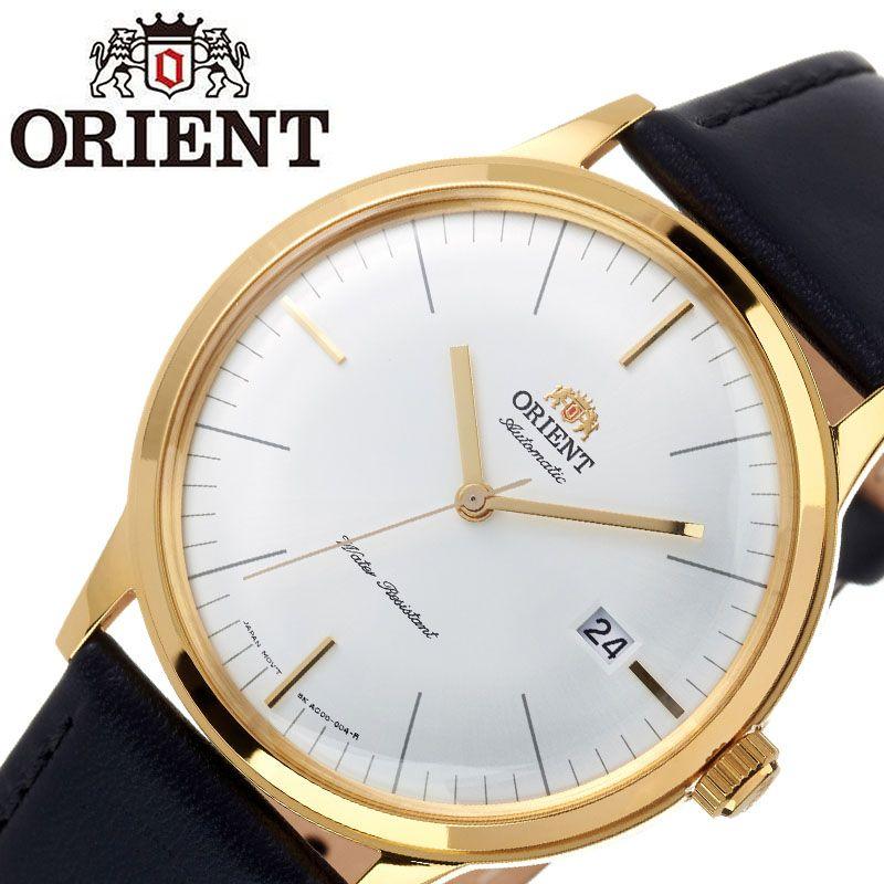 【SALE】(10%OFF) 割引 セール 安い オリエント腕時計 ORIENT時計 ORIENT 腕時計 オリエント 時計 バンビーノ クラシック BAMBINO CLASSIC メンズ ホワイト ORW-FAC0000BW0 [ ブランド 就活時計 防水 レトロ クラシカル 自動巻き 機械式 レザー 革ベルト プレゼント 記念日 ]