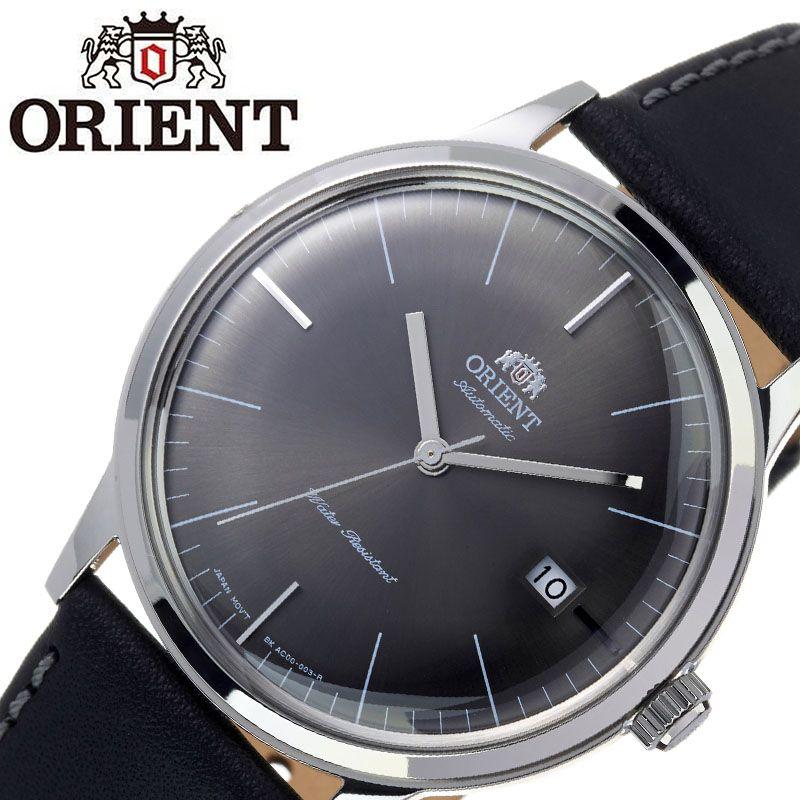 【SALE】(10%OFF) 割引 セール 安い オリエント腕時計 ORIENT時計 ORIENT 腕時計 オリエント 時計 バンビーノ クラシック BAMBINO CLASSIC メンズ グレー ORW-FAC0000CA0 [ ブランド 就活時計 防水 レトロ クラシカル 自動巻き 機械式 レザー 革ベルト プレゼント 記念日 ]