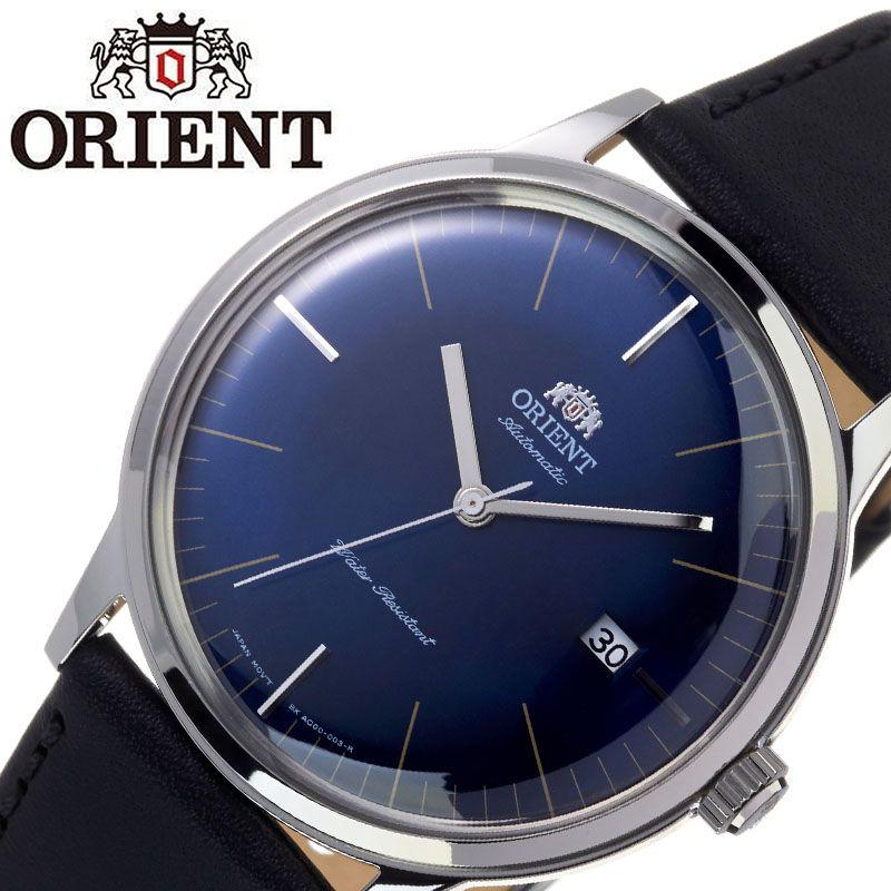 【SALE】(10%OFF) 割引 セール 安い オリエント腕時計 ORIENT時計 ORIENT 腕時計 オリエント 時計 バンビーノ クラシック BAMBINO CLASSIC メンズ ブルー ORW-FAC0000DD0 [ ブランド 就活時計 防水 レトロ クラシカル 自動巻き 機械式 レザー 革ベルト プレゼント 記念日 ]