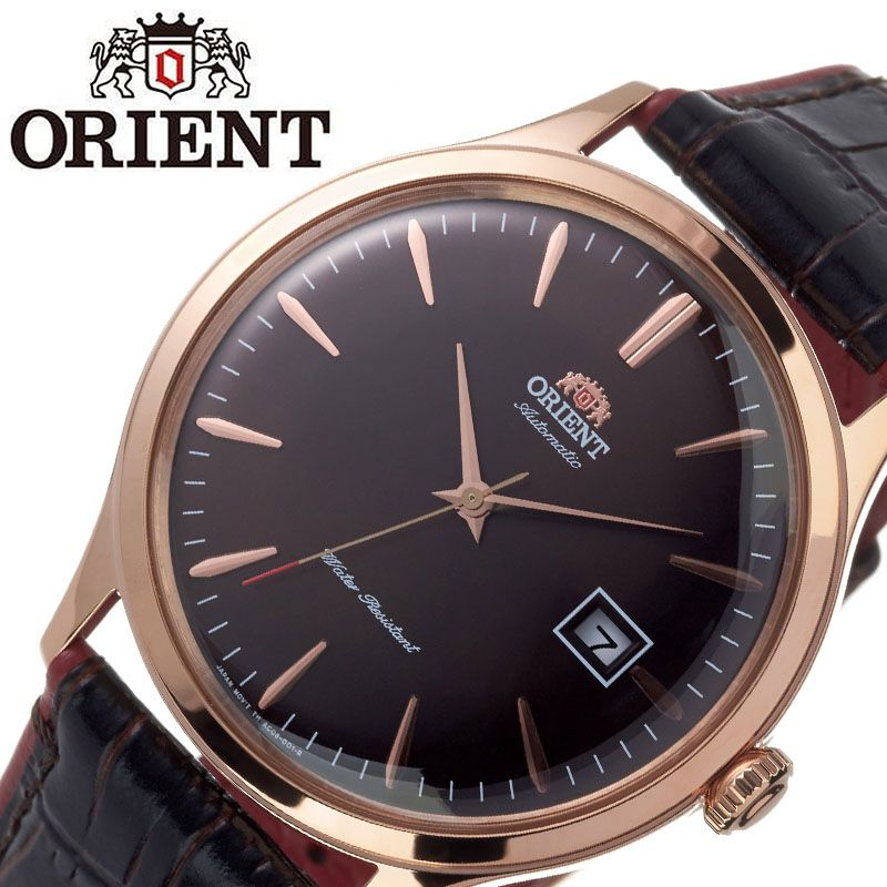 【SALE】(10%OFF) 割引 セール 安い オリエント腕時計 ORIENT時計 ORIENT 腕時計 オリエント 時計 バンビーノ クラシック BAMBINO CLASSIC メンズ ブラウン ORW-FAC08001T0 [ ブランド 就活時計 防水 レトロ クラシカル 自動巻き 機械式 レザー 革ベルト プレゼント 記念日 ]