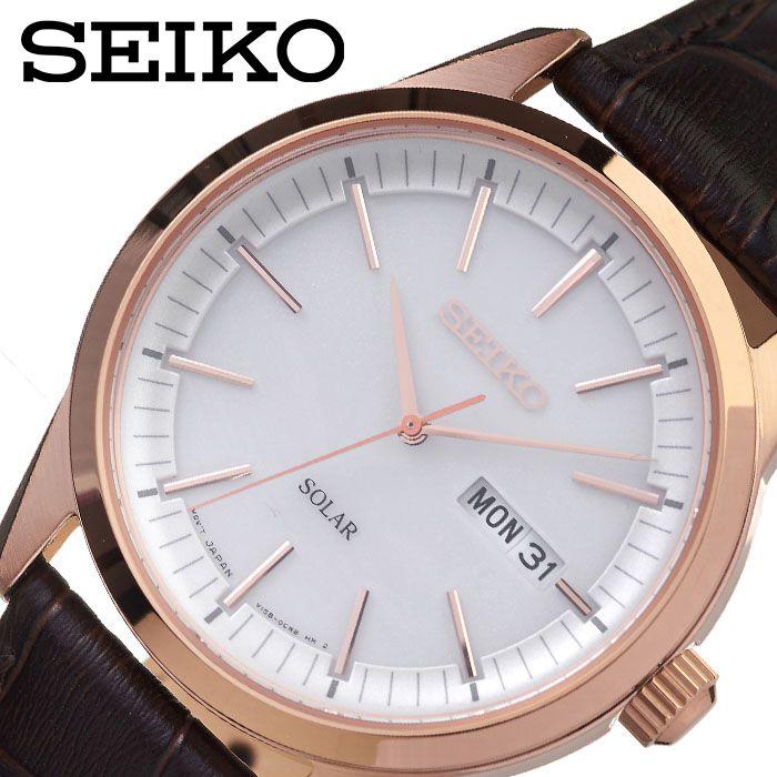 [当日出荷] セイコー腕時計 SEIKO時計 SEIKO 腕時計 セイコー 時計 メンズ ホワイト SEIKOW-SNE530P1 [ 人気 ブランド おすすめ 防水 逆輸入 社会人 スーツ フォーマル ビジネス おしゃれ カジュアル スタイリッシュ プレゼント ギフト ]