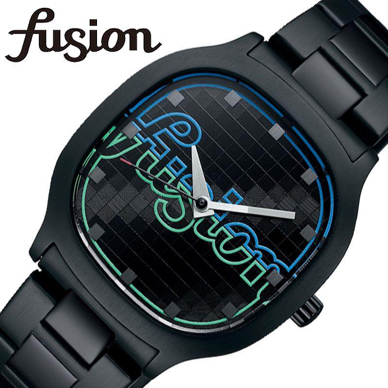 [5年保証] セイコー腕時計 SEIKO時計 SEIKO 腕時計 セイコー 時計 アルバ フュージョン ALBA FUSION メンズ 男性 レディース 女性 ブラック AFSK406 [ 正規品 ブランド スクエア型防水 おしゃれ レトロ 80年代 ネオン 個性的 シンプル おそろい ペア プレゼント ギフト ]