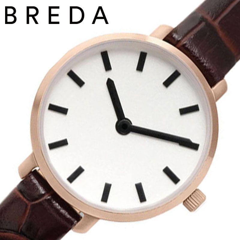【アンティーク風ウォッチ】 小さい 腕時計 革ベルト 女性 秒針 シンプル BREDA時計 BREDA 腕時計 ブレダ 時計 ビバリー BEVERLY レディース ホワイト BREDA-1730G [ 正規品 ブランド おしゃれ かわいい レトロ 大人 小さめ 華奢 ミニ レザー 誕生日 プレゼント ギフト ]