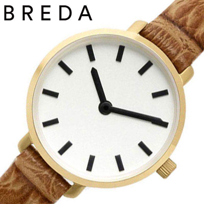 【アンティーク風ウォッチ】 小さい 腕時計 革ベルト 女性 秒針 シンプル BREDA時計 BREDA 腕時計 ブレダ 時計 ビバリー BEVERLY レディース ホワイト BREDA-1730K [ 正規品 ブランド おしゃれ かわいい レトロ 大人 小さめ 華奢 ミニ レザー 誕生日 プレゼント ギフト ]