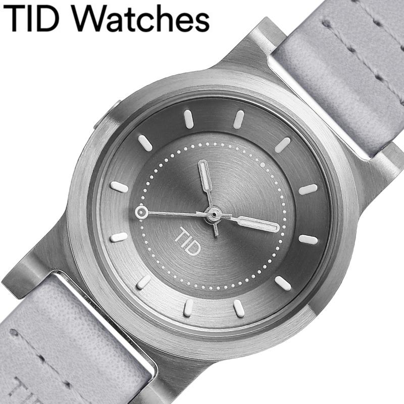 [当日出荷] ティッドウォッチズ腕時計 TIDWatches時計 TID Watches 腕時計 ティッド ウォッチズ 時計 No.4 28mm レディース 女性 シルバーグレー 40303141 [ ブランド 人気 正規品 北欧 シンプル 個性的 シンプル レザー 革ベルト おしゃれ 誕生日 ギフト プレゼント ]