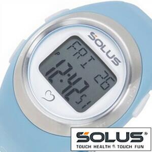 ソーラス腕時計[SOLUS時計](SOLUS 腕時計 ソーラス 時計)心拍時計(ハートレートモニター) 時計 01-800-03 [ 正規品 スポーツ ダイエット エクササイズ][ギフト プレゼント ご褒美][おしゃれ 腕時計]