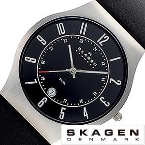 スカーゲン 腕時計[SKAGEN 時計]スカーゲン 時計[SKAGEN 腕時計]スカーゲン時計 SKAGEN時計 メンズ レディース 233XXLSLB[人気 北欧 ブランド 薄型 ビジネス シンプル メタル ベルト 防水 軽量 おしゃれ ブランド プレゼント ギフト ]