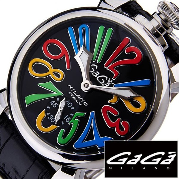 [当日出荷] ガガミラノ腕時計[GaGaMILANO時計](GaGa MILANO 腕時計 ガガ ミラノ 時計)マヌアーレ 48MM アッチャイオ(MANUALE 48MM ACCIAIO) メンズ時計GG-5010.2S[ギフト プレゼント ご褒美 おしゃれ ブランド ] 誕生日