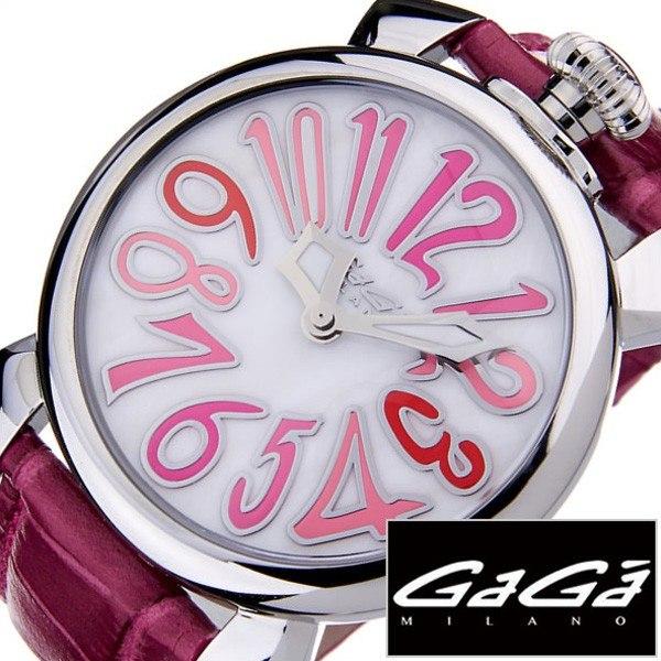 ガガミラノ腕時計[GaGaMILANO時計](GaGa MILANO 腕時計 ガガ ミラノ 時計)マヌアーレ 40MM アッチャイオ(MANUALE 40MM ACCIAIO) 時計GG-5020.6[ギフト プレゼント ご褒美][おしゃれ 腕時計]