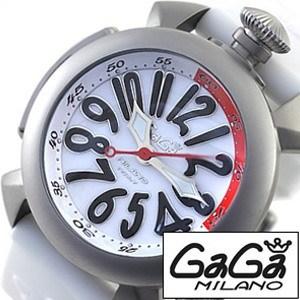 [当日出荷] ガガミラノ腕時計[GaGaMILANO時計](GaGa MILANO 腕時計 ガガ ミラノ 時計)ダイビング 48MM チタニオ(DIVING 48MM TITANIO) メンズ時計GG-5040.3-WH[ギフト プレゼント ご褒美 おしゃれ ブランド ] 誕生日