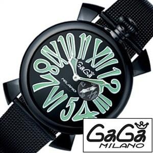 ガガミラノ腕時計[GaGaMILANO時計](GaGa MILANO 腕時計 ガガ ミラノ 時計)スリム 46MM PVD(SLIM 46MM PVD) メンズ時計GG-5082.2[ギフト プレゼント ご褒美][ おしゃれ ブランド ]